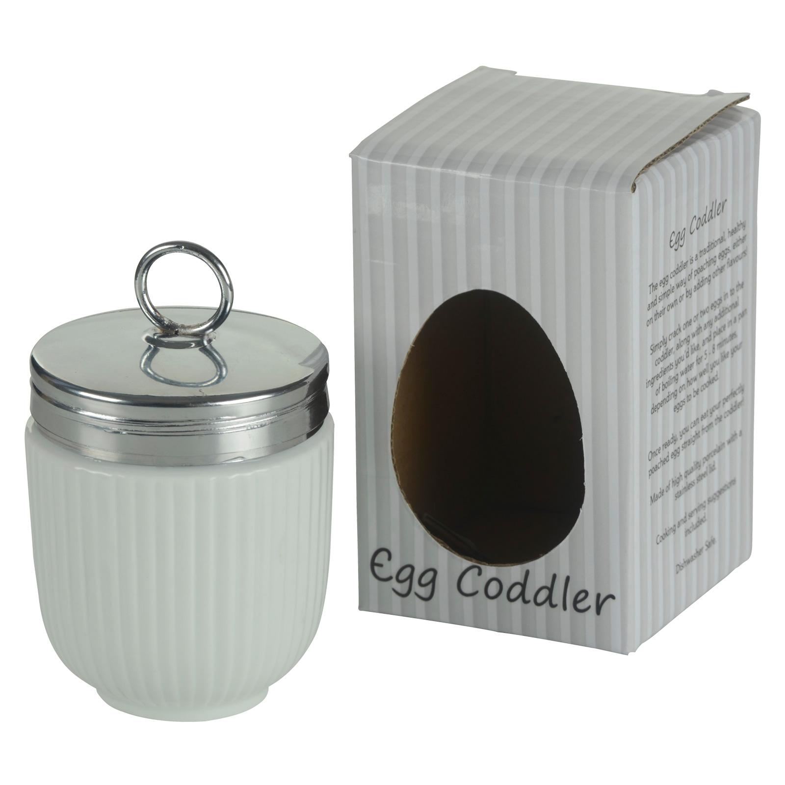 DRH Celadon Green Fluted Egg Coddler